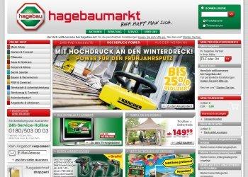 Hagebaumarkt Online Versand